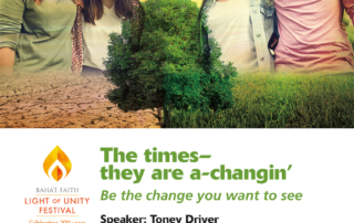 Toney Driver Be The Change You Want To See Event in Yakima